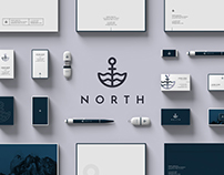 North - Creative Agency Branding Bundle with Mockups