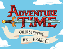 Adventure Time :: collaborative art project
