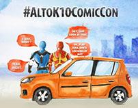 Alto K10 Comic Con Contest