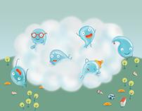 Damla'nın Masalı - Illustration for children's book
