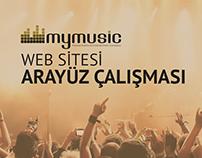 MyMusic Web Sitesi