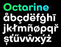 Octarine Typeface | 4 Free Fonts