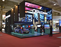 Qualcomm Booth - Futurecom 2017
