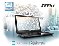 Flyer MSI Laptop CX62