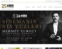 24th ⁠⁠⁠International Adana Film Festival website