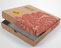 Pizza Box Mock-up