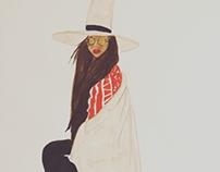 Chic Pose Series : Erykah Badu