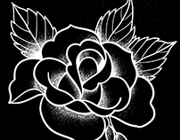 The White Roses - Tattoo Illustrations