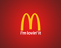 McDonald's I'm lovin it.