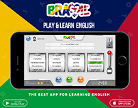 English Learning App for Brazilian Users