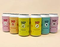 Pop Craft Soda Brand Packaging