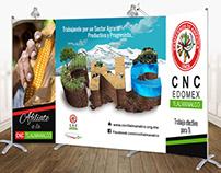 Publicidad CNC Tlalmanalco foro de agricultura