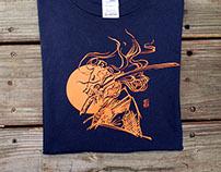 NTNU Kendo club/ T-shirt design