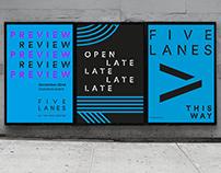 Five Lanes   Brand Identity