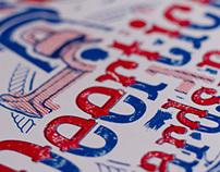 Deer Tick Screen Printed Poster