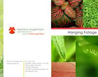 Hermann Engelmann:  Product Tri-fold Brochure