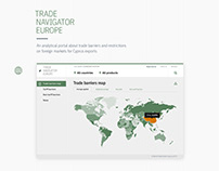 Trade Navigator Europe — analytical portal