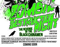 Zombie Destruction Night movie poster