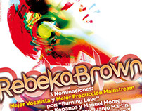 Rebeka Brown  - Ads for music magazines