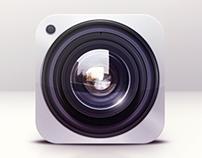 Camera Lens - Icon Design