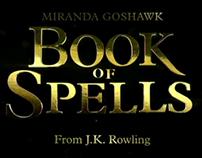 Book of Spells - User Interface Design