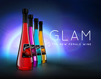 """Glam"" Female Wine - Product, Packaging & Brand Design"