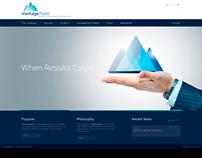 Website Design for VantagePoint S.A.