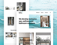 Marketing website for corporate agency Perfect Wellness