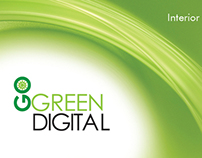 Go Green Digital:  Logo and Business Card Design