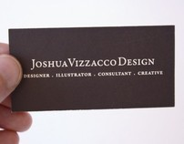 Joshua Vizzacco Design Business Cards