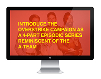OVERSTRIKE NEW GAME CAMPAIGN CONCEPT