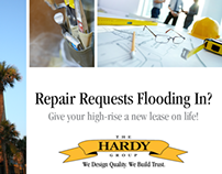DIRECT MAIL DESIGN: The Hardy Group