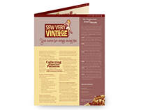 Sew Very Vintage–Newsletter