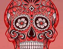 Calavera skull pr.2
