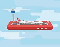 Turkish Airlines Mobile Application Promotion Video