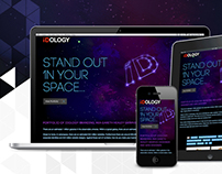 IDOLOGY-BRANDING.COM single page portfolio website