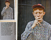 King Krule. The Stool Pigeon #40 - November 2012