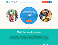 goods for good landing page