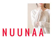 NUUNAA Fashion Website Concept