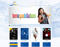 Praia Shopping - Website