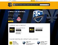 Landing Page - Montreal Impact