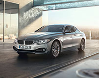BMW 4 SERIES COUPE | Full CGI (Car + Location)