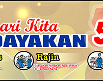 #05 Banner 5S 5R Seiri Seiton Indonesia Free Download