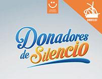 Donadores de Silencio - Cantera Creativa 2015