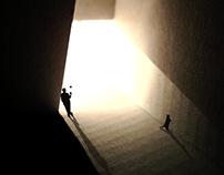 light and space silhouettes