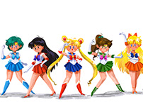 Sailormoon Fanart
