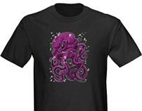 Octopus timelapse illustration