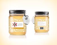 Living Garden Honey - Labels