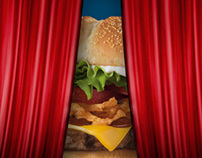 Burger King Opening Banner