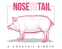 Nose to Tail Cocktail Dinner
